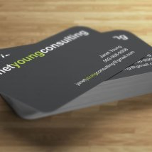 Janet Young Consulting business card