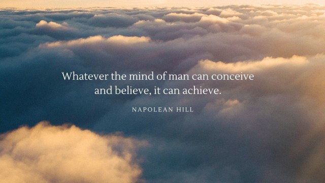 Napolean Hill - Financial Quote