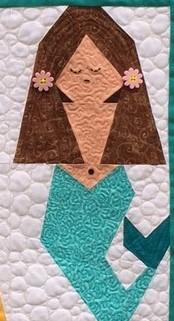 Brunette Mermaid