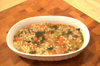 Mommy's Love Soup (inspired by the Italian Wedding Soup from Wegmans)
