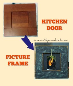 Kitchen Door to Photo Frame