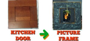 Kitchen Door to Picture Frame