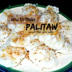 How to Make Palitaw or Sweet Flat Rice Cake