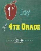 Fourth Grade 2015