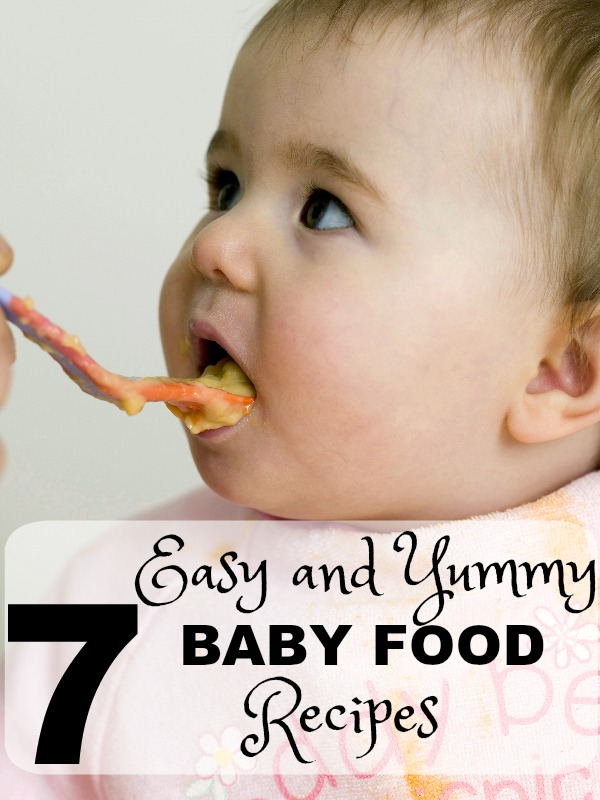 7 Baby Food Recipes