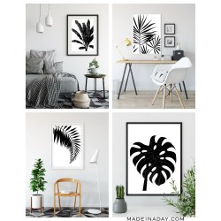 Small Crop Of Black And White Wall Art