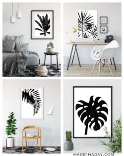 Small Of Black And White Wall Art