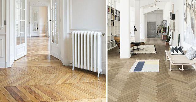 Suelos de madera maciza estilos y espectaculares ejemplos - Suelos de madera maciza ...