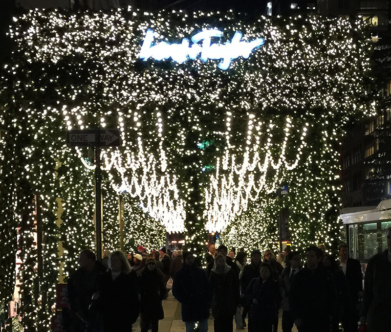 Lord & Taylor Christmas Lights