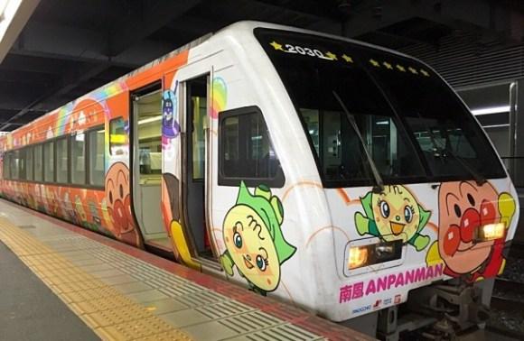 アンパンマン列車土讃線オレンジ