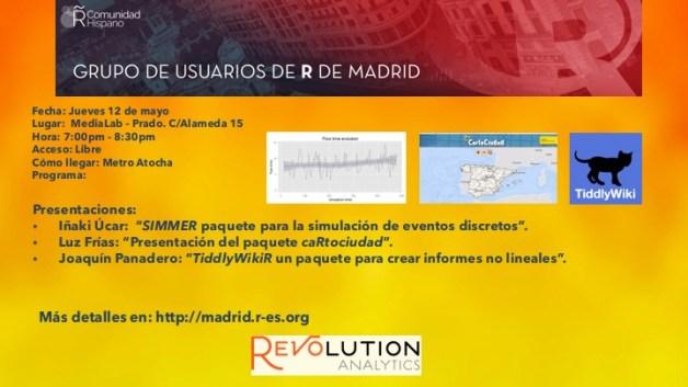Reunion Grupo Usuarios de R de Madrid - 2016-May-12_ V1