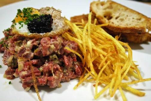Steak Tartare en Triciclo Madrid