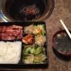 【錦糸町】第一韓国館で豚骨付カルビ定食を食べてきた。【オススメの定食】