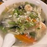 本格やきとん酒場・錦の豚 錦糸町店 (キンノブタ)、えびラーメンを食べてきた
