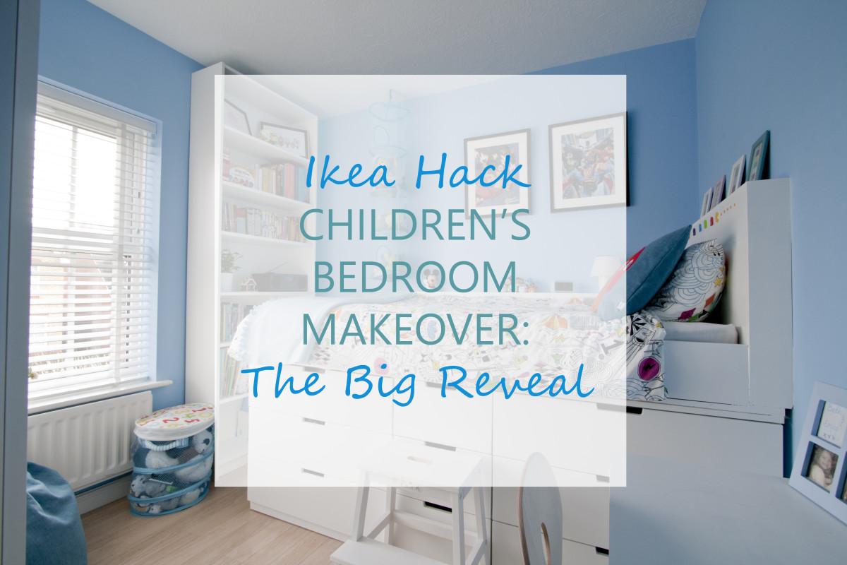 Ikea Hack Children's Bedroom Makeover: The Big Reveal
