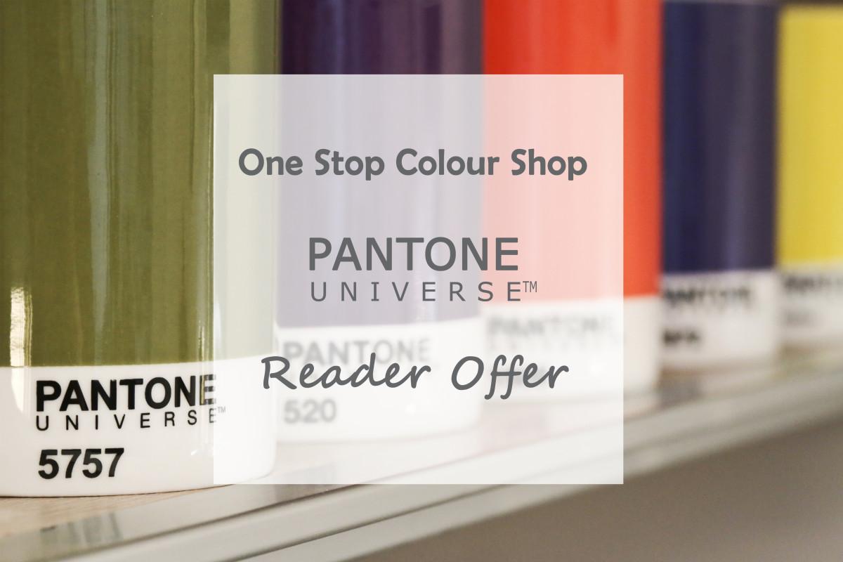 One Stop Colour Shop Pantone Universe Reader offer