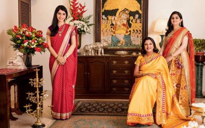 Celebrating Weaves With Vidhi Singhania