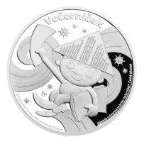 Pamětní mince k oslavám 50 let Večerníčku