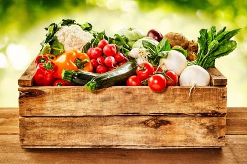 Die 50-Prozent-Regel: Achte darauf, dass immer mindestens die Hälfte des Tellers mit Gemüse gefüllt ist.