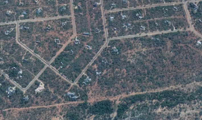 Google Earth image of Hoedspruit Wildlife Estate