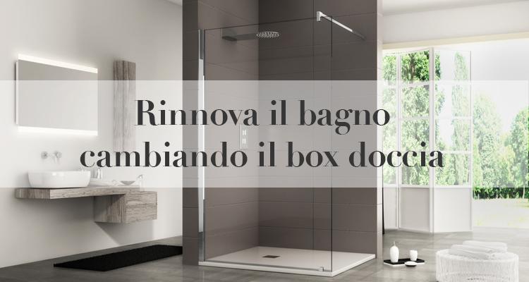 Rinnova il bagno cambiando il box doccia - Cabina doccia muratura ...