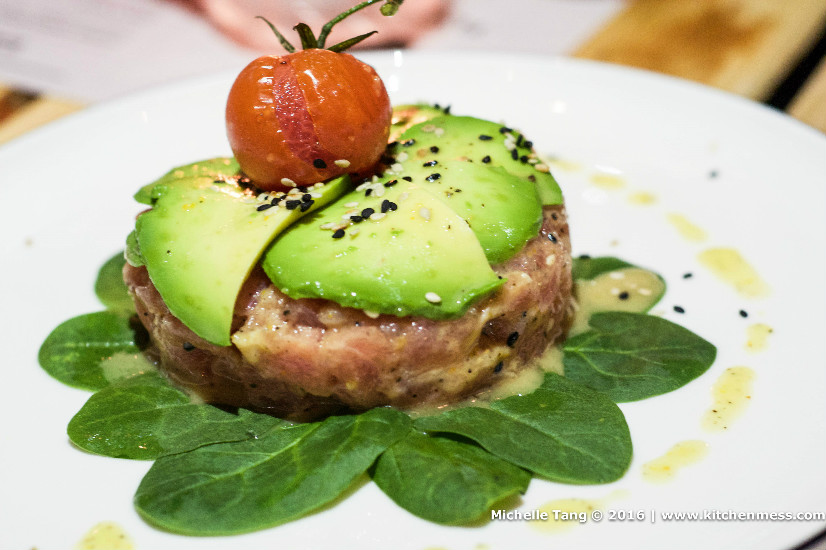 Asian tuna tartare – highly recommend for those who want to star the ...