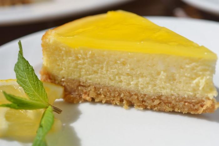 Lemon Cheesecake | foodpanda Magazine