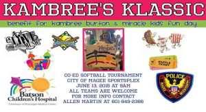 Kambree's Klassic @ City of Magee Sportsplex  | Magee | Mississippi | United States