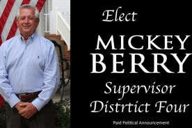 Mickey Berry seeks re-election as Supervisor District 4