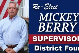 Re-Elect Mickey Berry Supervisor District 4