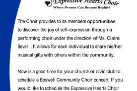 BRC Expressive Hearts Choir