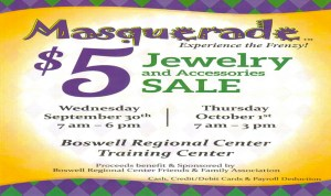 JEWELRY & ACCESSORIES SALE AT BOSWELL @ BOSWELL REGIONAL TRAINING CENTER