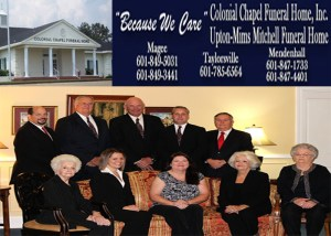 Colonial Chapel Funeral Home Memorial Service