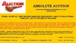 November 21st Auction