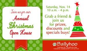 Ballyhoo Christmas Open House