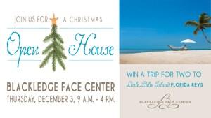 Blackledge Face Center Christmas Open House