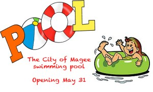 The City of Magee Swimming Pool Opening