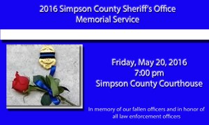 Fallen Officers Memorial Service