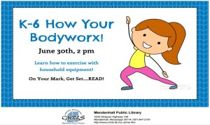 K-6 How they Body Worx Mendenhall Library