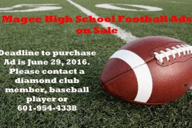 Magee High School Football ADs are on Sale