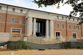 New College of Nursing Building at Southern Miss Nears Completion
