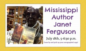 Janet Ferguson Book Signing @ Mendenhall Library