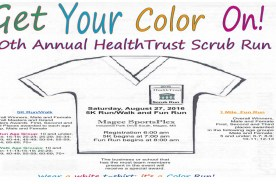 HealthTrust Scrub Run Saturday