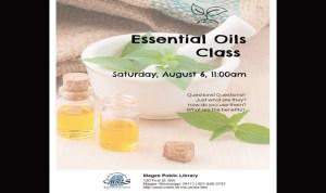 Essentials Oils Class