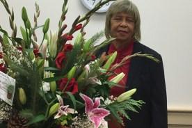 Thank you, Mrs. Doris Perkins!