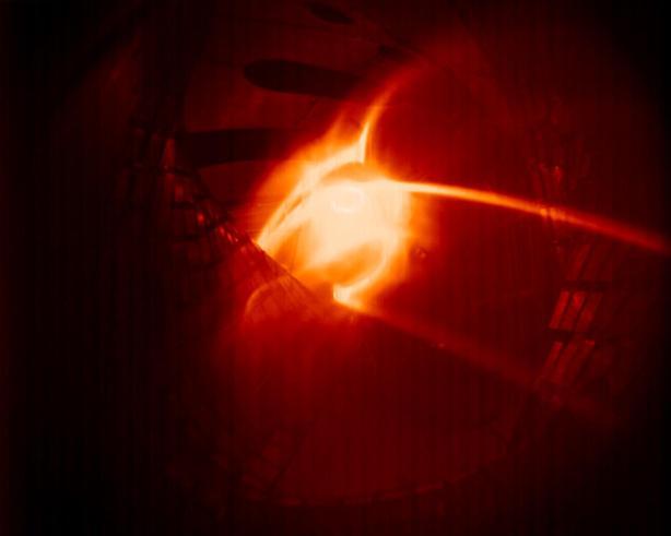 Az első plazma képe amely a magyar kamerarendszerrel készült