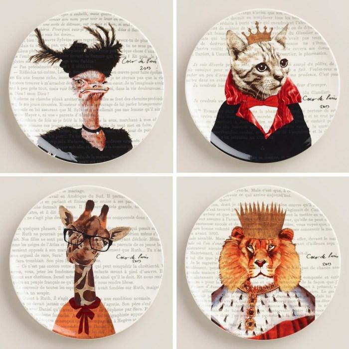 critter plates 1