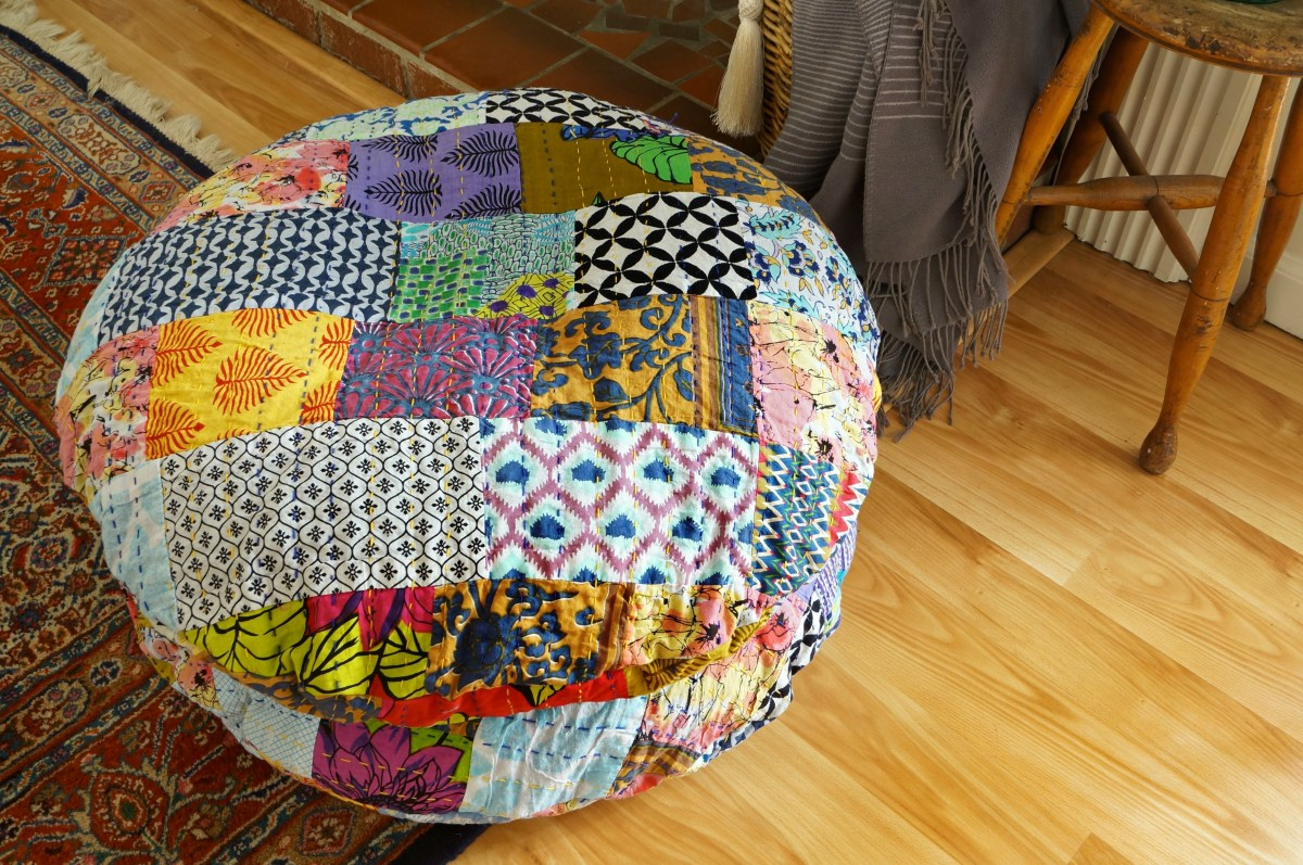 My Kantha Quilt Has Gone to the Dogs