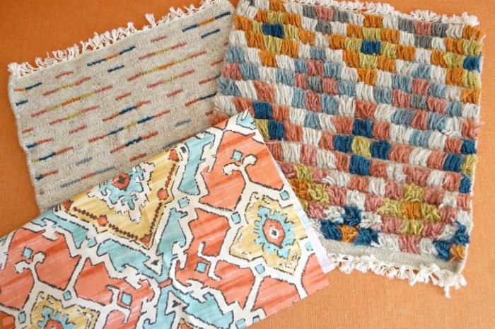 zipper-back-rug-sample-pillow-diy-decor- fabric-sample