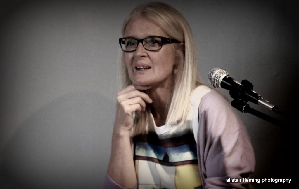 Actor and voice trainer Bridget McCann